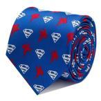 ショッピングDC Superman スーパーマン ブルー ネクタイ