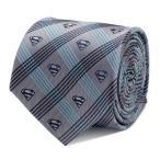 ショッピングDC Superman スーパーマン グレー プレイド ネクタイ