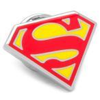 ショッピングDC Superman スーパーマン シールド ピン【ピンズ・ラぺルピン】