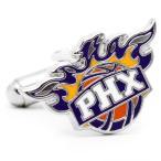 フェニックス サンズ ロゴ NBA プロバスケ カフスカフスボタン カフリンクス