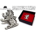TYLER & TYLER タイラー&タイラー ヘラルディックラペルピン(ライオン) (スタッズ ブローチ) ブランド(ポイント10倍)