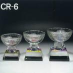 トロフィー クリスタル 名入れ記念品 表彰 CR−6 中 高さ13cm