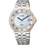 シチズン CITIZEN エクシード EXCEED エコドライブ電波時計 ユーロス 35周年記念モデル メンズ腕時計 AS7074-57A