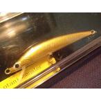 トラウト用ハンドメイドミノー オオタニ モンスター 7.5cm カラー 黒金