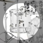 Pearl クリスタルビート CRYSTAL BEAT Drum Kit 〜Limited Model〜 14