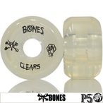 BONES ボーンズ Clear Wheel 84B SPF P5 54/56/58/60mm スケートボード スケボー パーツ タイヤ ウィール