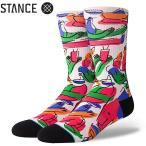 ショッピングmiddle スタンス ソックス イン ザ ミドル オブ サムウェア Stance Socks 靴下 In The Middle Of Somewhere 限定モデル 1足セット メンズ L 25.5-29.0cm  メンズ ファッ