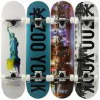 スケボー スケートボード コンプリート ZOOYORK ズーヨーク デッキ サイズ 7.75inch 初心者 おすすめ セット