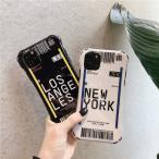 Yahoo!キュートハウスボーディンパス搭乗券航空券個性派白黒ニューヨークロスアンゼルス米国2020スマホケース携帯希少 iPhone7/8 XR 7plus/8plus X/XS XS Max 11 新商品