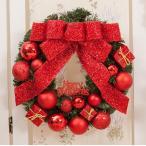 全品2枚で送料無料  christmasクリスマスリース玄関飾り/ドア飾り3色/クリスマス飾り/おしゃれ60cm  壁掛け 店舗用 法人用 /装飾 玄関や壁がおしゃれに
