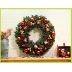 新作クリスマスリース/ドア飾り/クリスマス飾り/玄関飾り/直径50cm/christmasおしゃれ全品2枚で送料無料 壁掛け 店舗用 法人用 装飾