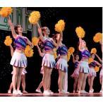 レディースダンス衣装 チアガールコスプレ衣装  チアリーダー ユニフォーム ジャッズ ヒップホップダンスウェア 体操服  運動会 応援団ウェア 舞台服