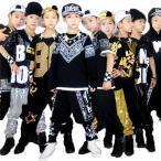 男女兼用キッズ ヒップホップ ダンス衣装 サルエルパンツ 子供 ジュニア 大人 ジャズダンス 衣装 ストリート系  チア チアガール 衣装