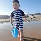 水着 男の子用水着 ベビー スポーツ 水泳 ファッション水着 ストライプ柄 オールインワンタイプ 夏 子供 海 キッズ 水遊び 80 90 100 110 120 130cm