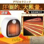 ヒーター セラミックヒーター ファンヒーター 1000W セラミックファンヒーター 電気ストーブ 電気ヒーター コンパクト 小型 軽量 暖房器具 安全 PSE認証済み