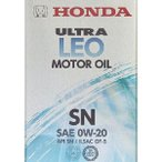 Honda純正エンジンオイル ウルトラLEO SN 0W20 4L