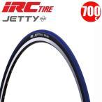 クロスバイク タイヤ IRC アイアールシー 700x28c JETTY プラス ブルー
