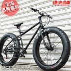 ロードバイク Sherry TOKYO CUSTOM 26インチ ファットタイヤ 29er自転車(マットブラック)【Code name : hirondelle(イロンデール)】