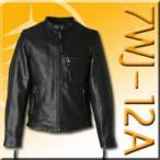 【DEGNER】7WJ-12A レザージャケット(M〜XLサイズ) 革ジャン メンズ 牛革 正規品 デグナー バイク用品
