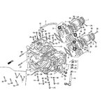 【HRC】14123-NF5-750 リードバルブスペーサー SPACER,REED VALVE 純正部品  HRC製品正規取扱店 Honda Racing エイチアールシー ホンダレーシング 補修パーツ【