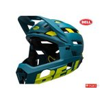 (キャッシュレス還元対象)ベル(BELL) SUPER AIR R MIPS(スーパーエア R ミップス) <ブルー/ハイヴィズ> ヘルメット