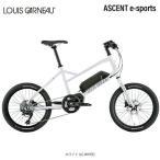 ルイガノ e-バイク e-bike スポーツ 電動自転車 電動アシスト アセント e-スポーツs LOUIS GARNEAU 10段変速 スポーツ車セール