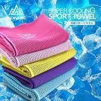 冷感スポーツタオル 速乾吸水 通気性 涼感 アウトドア スポーツ ヨガ 登山 旅行 紫外線対策 送料無料 AONIJIE/ANJ-4041