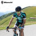ショッピングビアンキ 【取寄】[5%OFF]BIANCHI MILANO Ocreza Jersey + Sabor Bib Shorts ビアンキ 半袖ジャージ+ビブショーツ/サイクル 自転車
