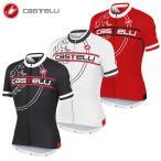 【即納】[15%OFF]CASTELLI 15022 SEGNO JERSEY FZ カステリ セーニョ 半袖ジャージ/サイクル 自転車