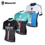 ショッピングビアンキ 【即納】[3%OFF]BIANCHI MILANO Pontesei Jersey ビアンキ 半袖ジャージ/サイクル 自転車