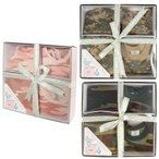 Rothcoロスコ ベビー4Pギフトセット 3-6ヶ月用 INFANT 4/PC CAMO BOXED GIFT SET/BABY PINK CAMO