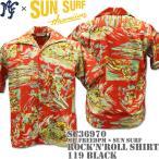 Mr.Freedpm × SUN SURF(ミスターフリーダム×サンサーフ) アロハシャツ ROCK'n'ROLL Shirt Red SC36970-165