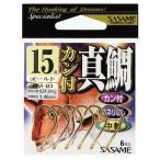 ささめ針(SASAME) カン付真鯛 RM-03 10号 10本入 金