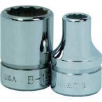 WILLIAMS 3/8ドライブ ショートソケット 12角 9mm JHWBM1209