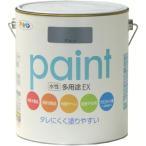 アサヒペン 水性多用途EX1.6L グレー 459701
