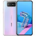 ZenFone7 5G フリップカメラ 128GB ホワイト ZS670KS-WH128S8 SIMフリー デュアルSIM ASUS Android 特典付 zs670-73zh