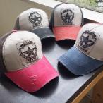 帽子 ワンスター ダメージ キャップ レディース メンズ オープン記念 セール