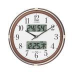 4FYA05-006 ネムリーナカレンダーリブ CITIZEN シチズン 温度湿度計付電波掛時計