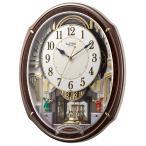 4MN545RH23 リズム時計 スモールワールドアルディ 電波からくり時計