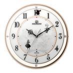 Yahoo!生活家電ディープライスお取り寄せ 4MY854MC14 リズム時計 Disney アリス 電波掛け時計