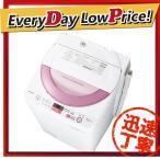 時間指定不可 ES-GE6A-P SHARP シャープ 洗濯・脱水容量6.0kg 全自動洗濯機 ピンク系