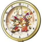 FW521G ディズニータイム ミッキー&フレンズ SEIKO セイコー キャラクター掛時計 ミッキーマウス&ミニーマウス