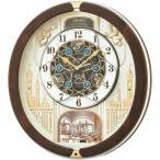 RE579B SEIKO セイコー スワロフスキー・クリスタル からくり・アミューズ 電波からくり時計