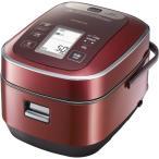 RZ-YW3000M-R HITACHI 日立 ふっくら御膳 5.5合炊き 圧力スチームIH炊飯器 メタリックレッド