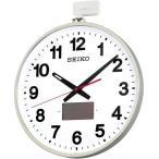 SF211S SEIKO セイコー 大型掛時計 ソーラー屋外用電波時計 クロック