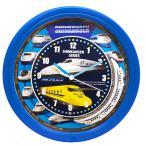 SRA 新幹線クロック 壁掛け時計 SR-WC15001BL  ブルー