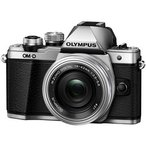 OLYMPUS / オリンパス OM-D E-M10 Mark II 14-42mm EZレンズキット [シルバー] 【デジタル一眼カメラ】
