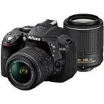 ●Nikon / ニコン D5300 ダブルズームキット2 [ブラック] 【デジタル一眼カメラ】