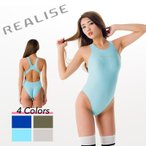 REALISE(リアライズ)【N-111】競泳水着 コスチューム ワンピーススイムスーツ | Circular hole swimsuit(Wカレンダー加工)