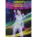 """新品 送料無料 郷ひろみ DVD HIROMI GO DISCOTHEQUE TOUR 2013 """"LET'S GROOVE"""